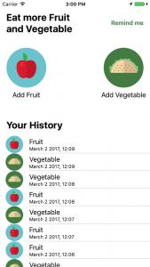 Eat More Vegetable Demo App